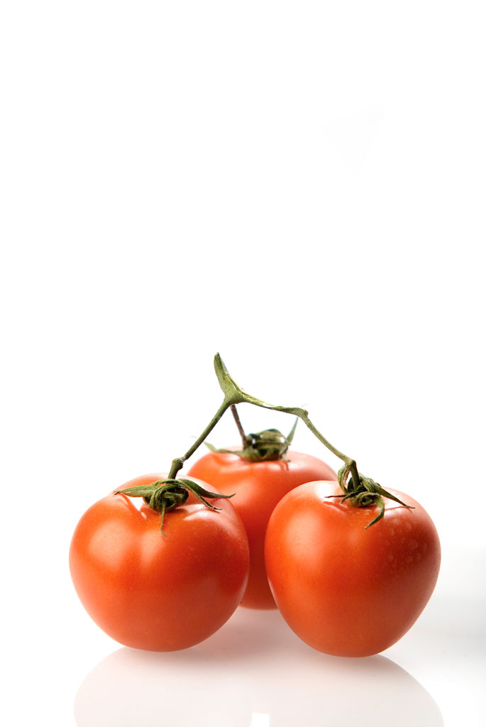 Tomatoes with stem
