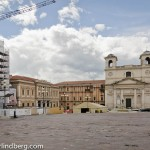 The damage from the earthquake that rocked L'Aquila in 2009