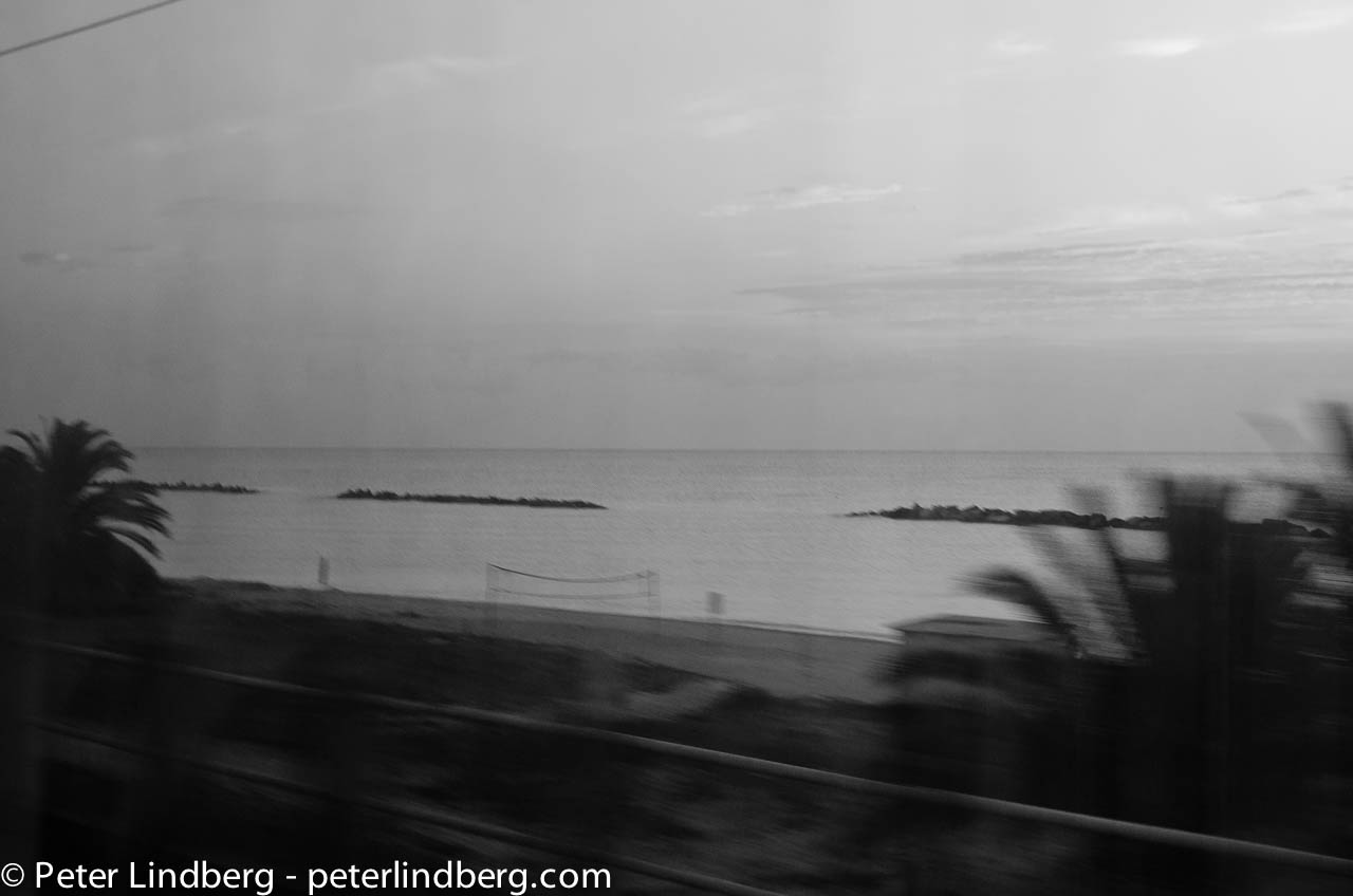 On the train from Roseto to Ancona